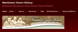 Manitowoc Tavern History Screen Shot